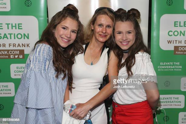 Actors Chiara D'Ambrosio Bianca D'Ambrosio and Florence Boizon attend the DoctorFrankcom Memorial Day Yacht Cruise on May 29 2017 in Marina del Rey...