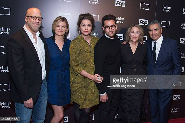 Actors Chris Elliott Jennifer Robertson Annie Murphy Daniel Levy Catherine O'Hara and Eugene Levy attend the 11th Annual New York Television Festival...