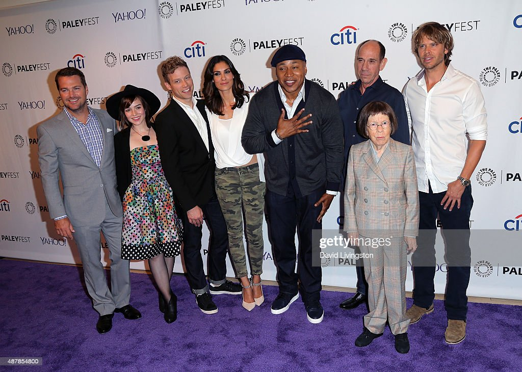 the paley center for media 39 s paleyfest 2015 fall tv preview ncis los angeles getty images. Black Bedroom Furniture Sets. Home Design Ideas