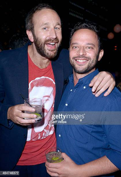 Actors Chris O'Dowd and Nick Kroll attend the 'St Vincent' premiere during the 2014 Toronto International Film Festival at Patria on September 5 2014...