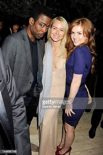 Actors Chris Rock Naomi Watts and Isla Fisher attend as The IFP Calvin Klein Collection euphoria Calvin Klein celebrate Women In Film during the 65th...