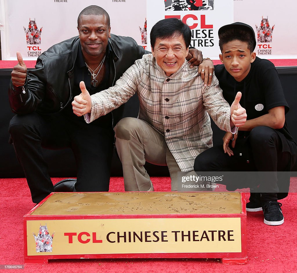 Jackie Chan Hand And Footprint Ceremony