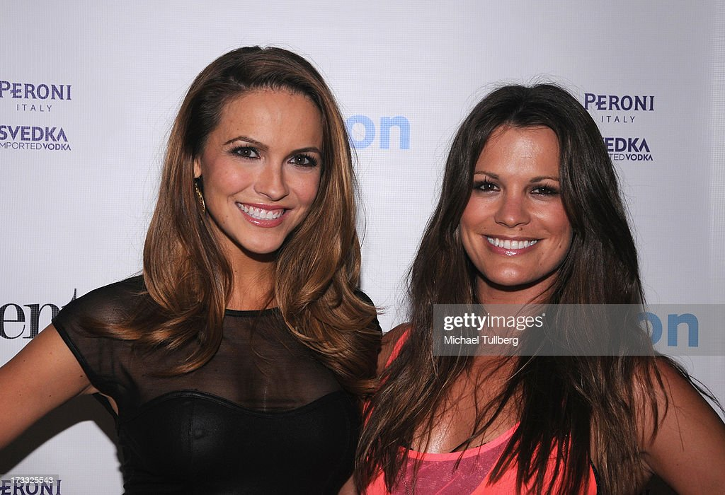 Actors <a gi-track='captionPersonalityLinkClicked' href=/galleries/search?phrase=Chrishell+Stause&family=editorial&specificpeople=675283 ng-click='$event.stopPropagation()'>Chrishell Stause</a> and <a gi-track='captionPersonalityLinkClicked' href=/galleries/search?phrase=Melissa+Claire+Egan&family=editorial&specificpeople=4164662 ng-click='$event.stopPropagation()'>Melissa Claire Egan</a> attend the Gents At Kitson Launch Event at Kitson on Roberston on July 11, 2013 in Beverly Hills, California.