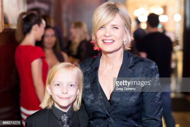 Actors Christian Ganiere and Mary Beth Evans attend the Cast Premiere Screening Of Lany Entertainment's 'The Bay' Season 3 After Party at 33 Taps...