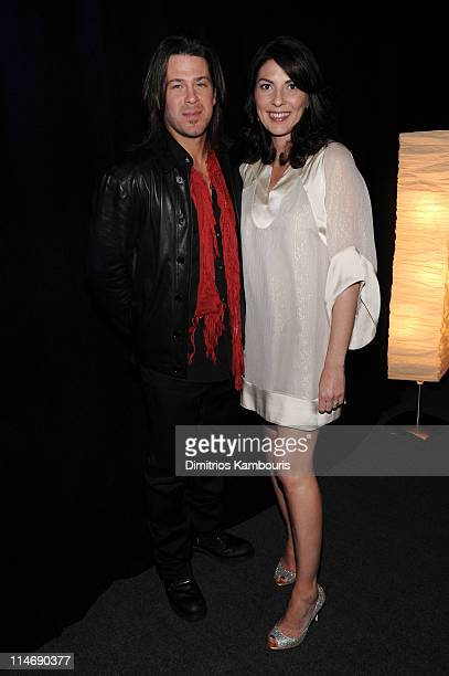 Actors Christian Kane and Gina Bellman attend the TEN Upfront presentation at Hammerstein Ballroom on May 19 2010 in New York City 19688_002_0589JPG