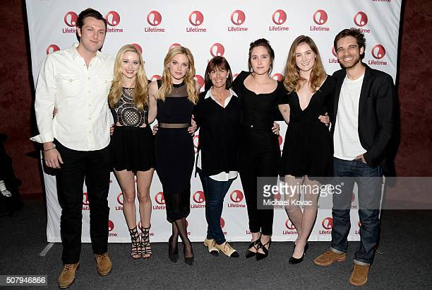 Actors Christian Madsen Greer Grammer Mackenzie Mauzy Executive Producer Nancy Bennett actors Eden Brolin Grace Victoria Cox and Jeff Ward attend...