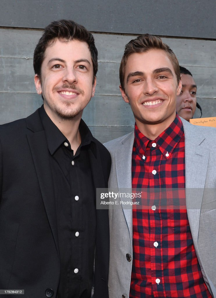Actors <a gi-track='captionPersonalityLinkClicked' href=/galleries/search?phrase=Christopher+Mintz-Plasse&family=editorial&specificpeople=4326251 ng-click='$event.stopPropagation()'>Christopher Mintz-Plasse</a> (L) and <a gi-track='captionPersonalityLinkClicked' href=/galleries/search?phrase=Dave+Franco&family=editorial&specificpeople=5512906 ng-click='$event.stopPropagation()'>Dave Franco</a> attend CW Network's 2013 Young Hollywood Awards presented by Crest 3D White and SodaStream held at The Broad Stage on August 1, 2013 in Santa Monica, California.