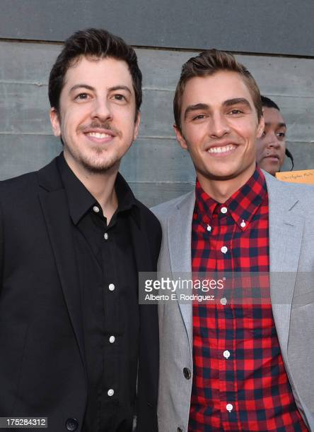 Actors Christopher MintzPlasse and Dave Franco attend CW Network's 2013 Young Hollywood Awards presented by Crest 3D White and SodaStream held at The...
