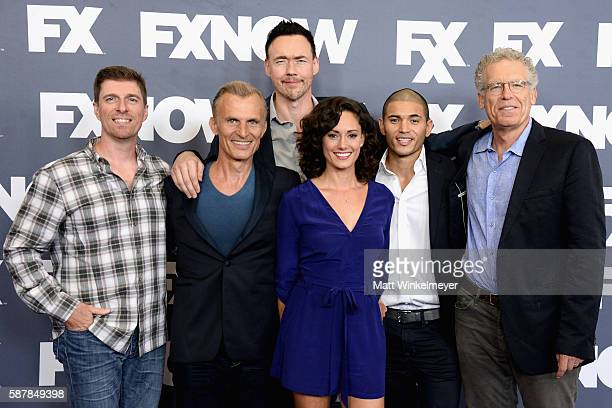 Actors Chuck Hogan Richard Sammel Kevin Durand Natalie Brown Miguel Gomez and producer Carlton Cuse attend the FX Networks TCA 2016 Summer Press Tour...