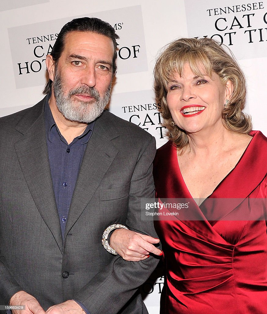 Actors Ciaran Hinds and <a gi-track='captionPersonalityLinkClicked' href=/galleries/search?phrase=Debra+Monk&family=editorial&specificpeople=700075 ng-click='$event.stopPropagation()'>Debra Monk</a> attend the 'Cat On A Hot Tin Roof' Broadway opening night after party at The Lighthouse at Chelsea Piers on January 17, 2013 in New York City.