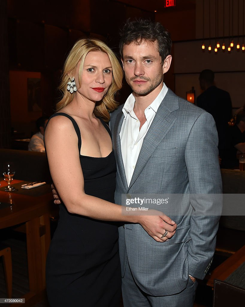 Actors Claire Danes (L) and Hugh Dancy attend the SHOWTIME VIP Post-Fight Dinner for 'Mayweather VS Pacquiao' at MGM Grand Hotel & Casino on May 2, 2015 in Las Vegas, Nevada.