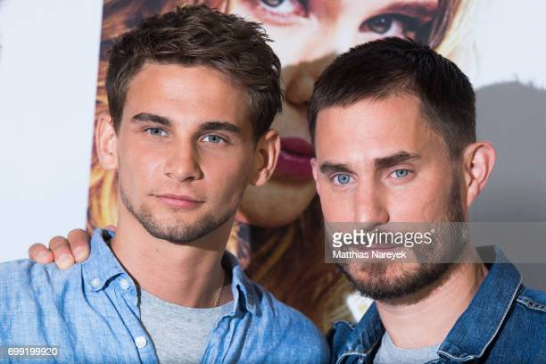 Actors Clemens Schick and Freddie Thorp attend the 'Overdrive' Photo Call at Hotel De Rome on June 21 2017 in Berlin Germany