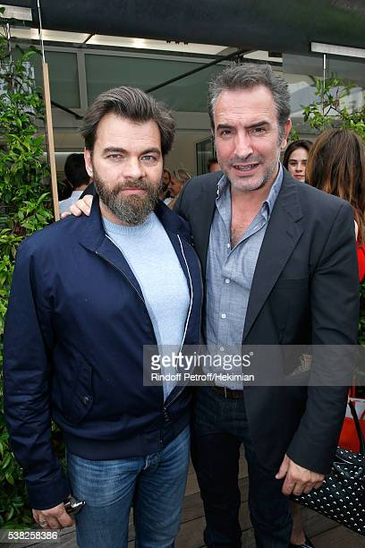 Actors Clovis Cornillac and Jean Dujardin they just finished the shooting of the movie 'Brice de Nice 2' attend Day Fifteen Men single's Final of the...