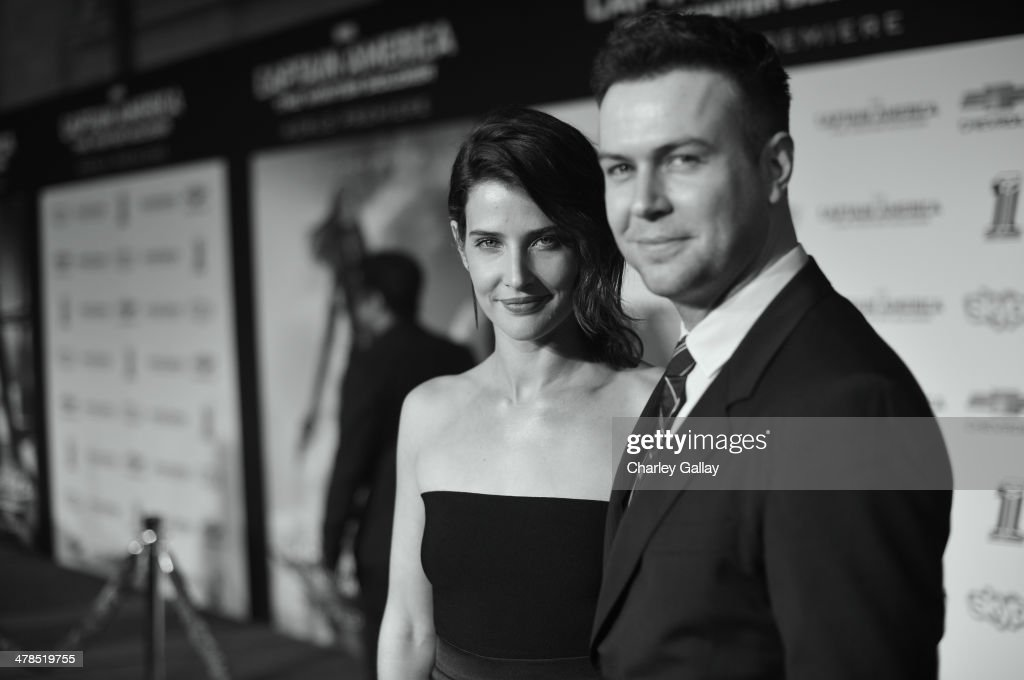 Actors <a gi-track='captionPersonalityLinkClicked' href=/galleries/search?phrase=Cobie+Smulders&family=editorial&specificpeople=739940 ng-click='$event.stopPropagation()'>Cobie Smulders</a> (L) and <a gi-track='captionPersonalityLinkClicked' href=/galleries/search?phrase=Taran+Killam&family=editorial&specificpeople=3798325 ng-click='$event.stopPropagation()'>Taran Killam</a> attend Marvel's 'Captain America: The Winter Soldier' premiere at the El Capitan Theatre on March 13, 2014 in Hollywood, California.