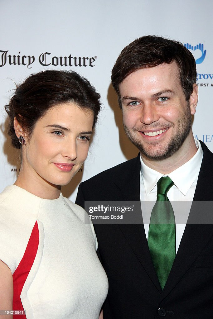 Actors <a gi-track='captionPersonalityLinkClicked' href=/galleries/search?phrase=Cobie+Smulders&family=editorial&specificpeople=739940 ng-click='$event.stopPropagation()'>Cobie Smulders</a> (L) and <a gi-track='captionPersonalityLinkClicked' href=/galleries/search?phrase=Taran+Killam&family=editorial&specificpeople=3798325 ng-click='$event.stopPropagation()'>Taran Killam</a> attend the 1st Annual Norma Jean Gala held at the TCL Chinese Theatre on March 20, 2013 in Hollywood, California.