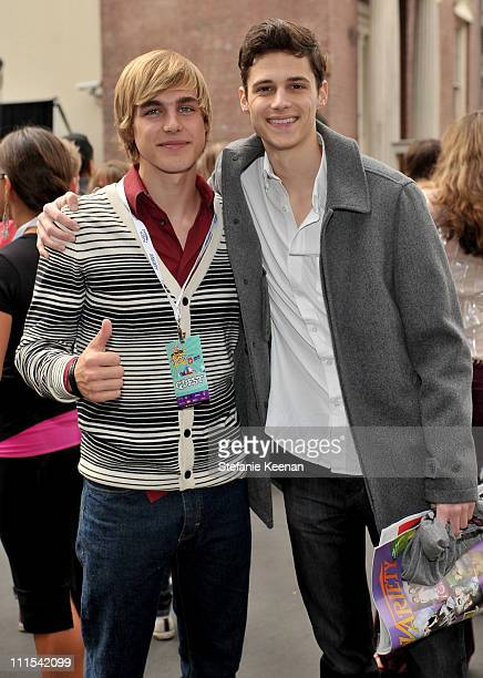 Actors Cody Linley and Ken Baumann attend Variety's 3rd annual 'Power of Youth' event held at Paramount Studios on December 5 2009 in Los Angeles...