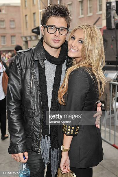 Actors Cody Longo and Cassie Scerbo attend Variety's 3rd annual 'Power of Youth' event held at Paramount Studios on December 5 2009 in Los Angeles...