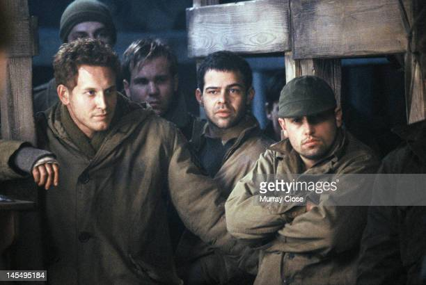 Actors Cole Hauser and Rory Cochrane in a scene from the film 'Hart's War' 2002