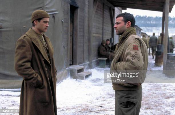 Actors Colin Farrell and Rory Cochrane in a scene from the film 'Hart's War' 2002