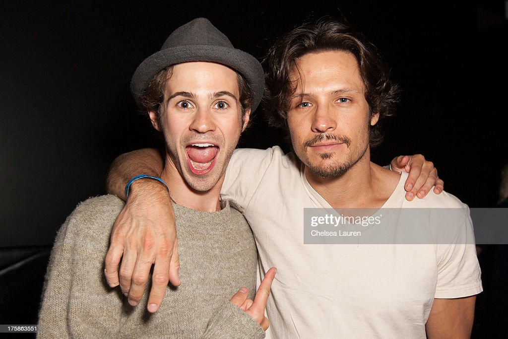 Actors <a gi-track='captionPersonalityLinkClicked' href=/galleries/search?phrase=Connor+Paolo&family=editorial&specificpeople=4452064 ng-click='$event.stopPropagation()'>Connor Paolo</a> (L) and <a gi-track='captionPersonalityLinkClicked' href=/galleries/search?phrase=Nick+Wechsler+-+Actor&family=editorial&specificpeople=2210698 ng-click='$event.stopPropagation()'>Nick Wechsler</a> attend Lorde in concert at Echoplex on August 8, 2013 in Los Angeles, California.