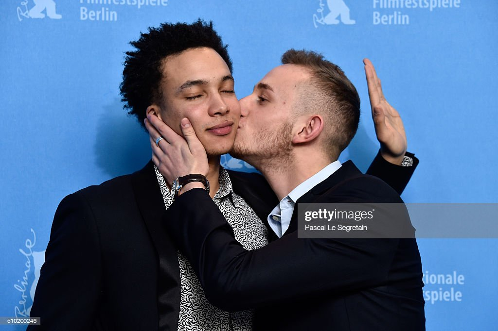 Actors Corentin Fila and Kacey Mottet Klein attend the 'Being 17' (Quand on a 17 ans) photo call during the 66th Berlinale International Film Festival Berlin at Grand Hyatt Hotel on February 14, 2016 in Berlin, Germany.