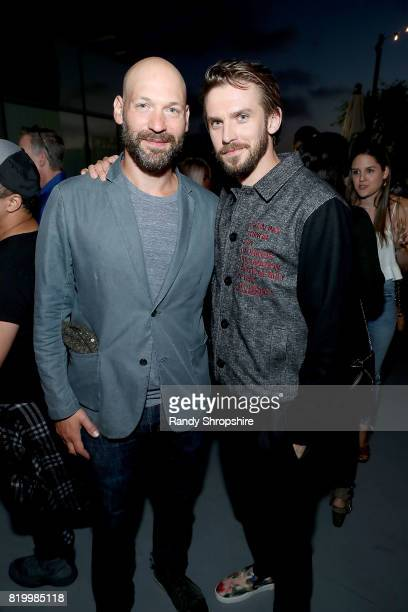 Actors Corey Stoll and Dan Stevens attend the Entertainment Weekly and FX After Dark event at the EW Studio during ComicCon at Hard Rock Hotel San...