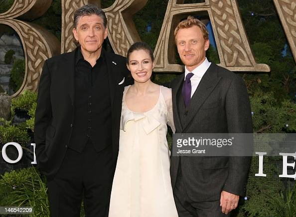 Actors Craig Ferguson Kelly Macdonald and Kevin McKidd arrive at Film Independent's 2012 Los Angeles Film Festival Premiere of Disney Pixar's 'Brave'...