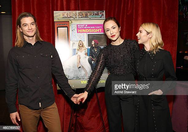 Actors Craig Horner Sarah Goldberg and Laura Ramsey attend Entertainment Weekly And VH1 Host A Special Screening Of VH1's New Scripted Series...