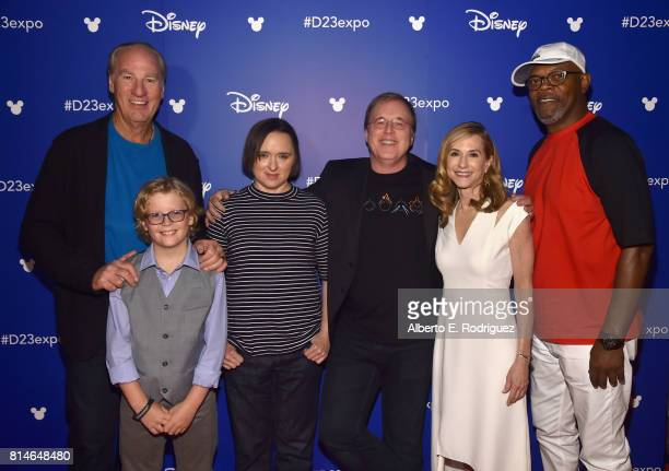 Actors Craig T Nelson Huck Milner Sarah Vowell director Brad Bird actors Holly Hunter and Samuel L Jackson of INCREDIBLES 2 took part today in the...