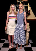 Actors Dakota Fanning and Kate Bosworth attend the I Love Coco Backstage Beauty Lounge at Chateau Marmont's Bar Marmont on February 25 2016 in...