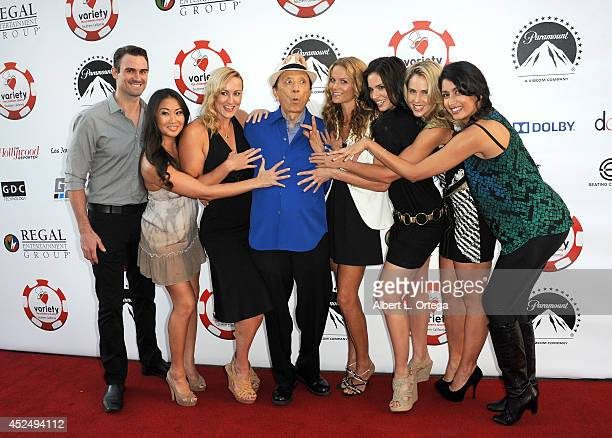 Actors Dameon Clarke Diane Yang Vanessa Cater James Hong Ellen Hollman Katrina Law Anna Hutchison and Karishma Ahluwalia arrive for the 4th Annual...