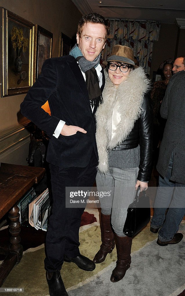 Actors Damian Lewis and Helen McCrory attend a VIP Screening of 'The Artist' hosted by the Weinstein Company at Charlotte Street Hotel on December 11...