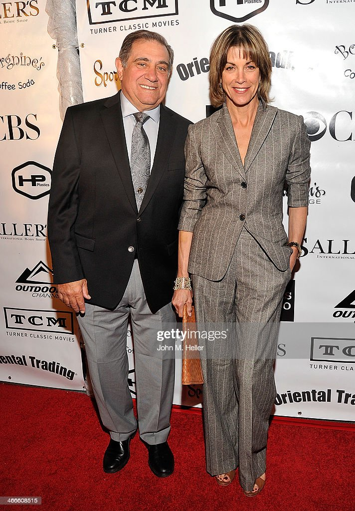 Actors <a gi-track='captionPersonalityLinkClicked' href=/galleries/search?phrase=Dan+Lauria&family=editorial&specificpeople=757077 ng-click='$event.stopPropagation()'>Dan Lauria</a> and <a gi-track='captionPersonalityLinkClicked' href=/galleries/search?phrase=Wendie+Malick&family=editorial&specificpeople=206371 ng-click='$event.stopPropagation()'>Wendie Malick</a> attend the 2nd annual Borgnine Movie Star Gala honoring actor Joe Mantegna at the Sportman's Lodge on February 1, 2014 in Studio City, California.