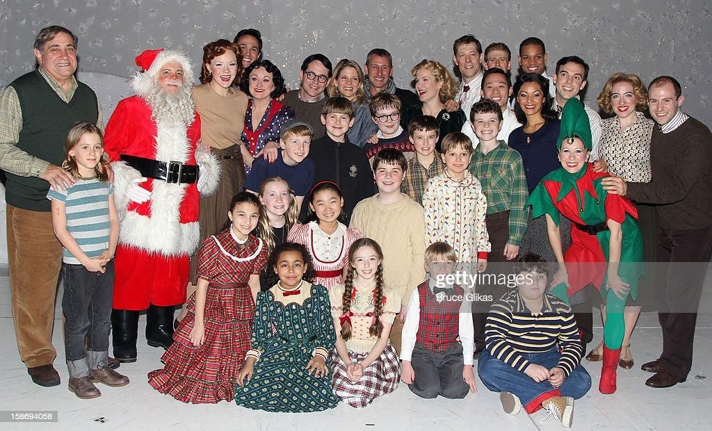 Actors Dan Lauria James Wilke Broderick Matthew Broderick Kelli O'Hara director Adam Shenkman and actors Erin Dilly and John Bolton and cast members...
