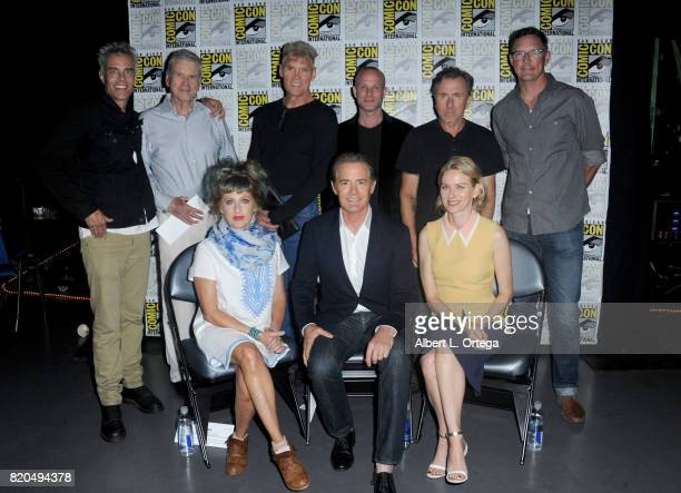 Actors Dana Ashbrook Don Murray Everett McGill James Marshall Tim Roth Matthew Lillard Kimmy Robertson Kyle MacLachlan and Naomi Watts attend 'Twin...