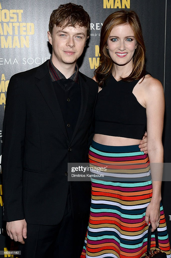 Actors <a gi-track='captionPersonalityLinkClicked' href=/galleries/search?phrase=Dane+DeHaan&family=editorial&specificpeople=6890481 ng-click='$event.stopPropagation()'>Dane DeHaan</a> (L) and <a gi-track='captionPersonalityLinkClicked' href=/galleries/search?phrase=Anna+Wood&family=editorial&specificpeople=6911245 ng-click='$event.stopPropagation()'>Anna Wood</a> attend Lionsgate and Roadside Attraction's premiere of 'A Most Wanted Man' hosted by The Cinema Society and Montblanc at the Museum of Modern Art on July 22, 2014 in New York City.