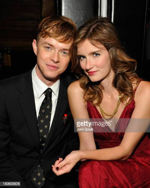 Actors Dane DeHaan and Anna Wood attend the after party for the 'LAWLESS' premiere in Los Angeles hosted By DeLeon and Presented by The Weinstein...