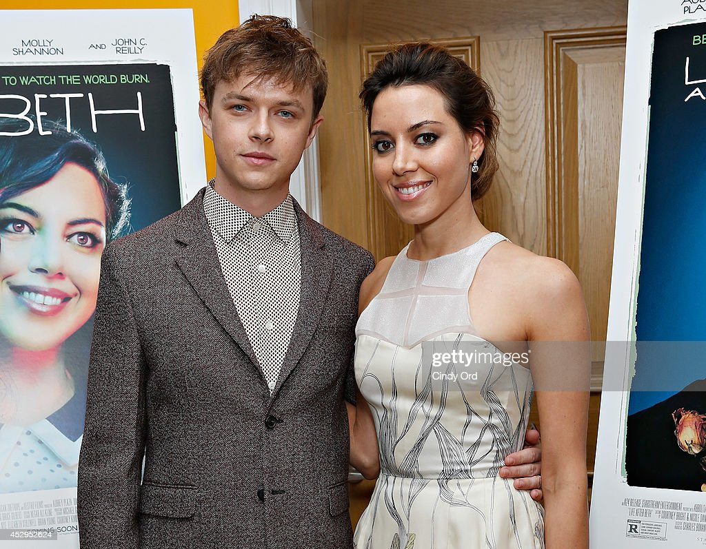 Actors <a gi-track='captionPersonalityLinkClicked' href=/galleries/search?phrase=Dane+DeHaan&family=editorial&specificpeople=6890481 ng-click='$event.stopPropagation()'>Dane DeHaan</a> and <a gi-track='captionPersonalityLinkClicked' href=/galleries/search?phrase=Aubrey+Plaza&family=editorial&specificpeople=5299268 ng-click='$event.stopPropagation()'>Aubrey Plaza</a> attend the 'Life After Beth' New York Screening at Crosby Street Hotel on July 30, 2014 in New York City.