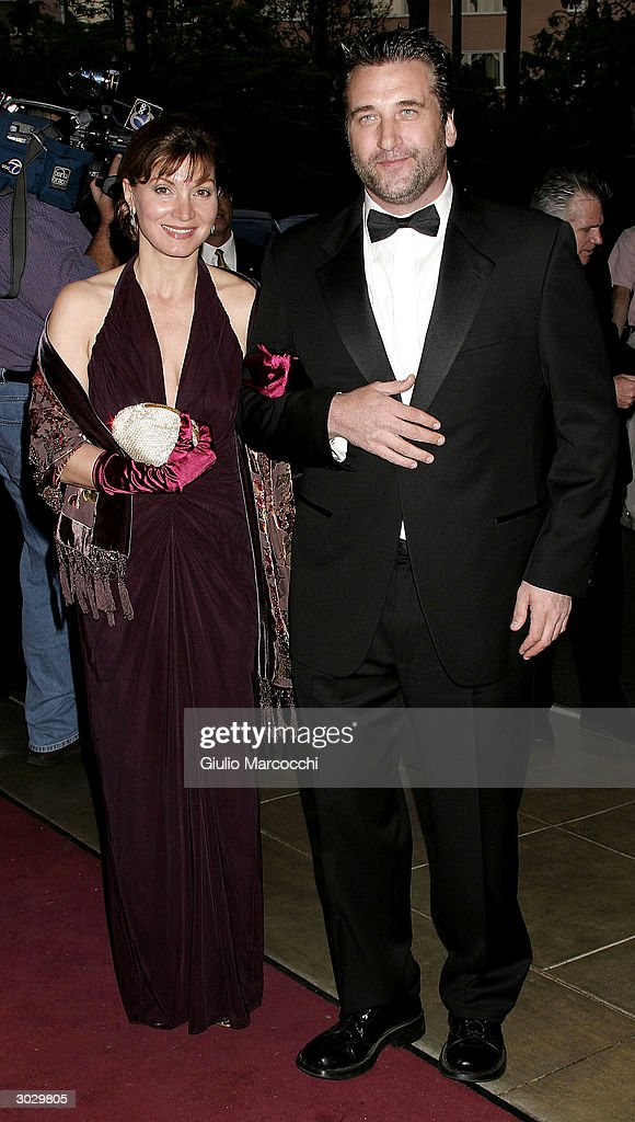 Actors Daniel Baldwin and Isabella Hoffman arrive at the 13th Annual Night of 100 Stars Oscar Viewing Black Tie Gala, February 29, 2004 at the Beverly Hills Hotel in Beverly Hills, California.