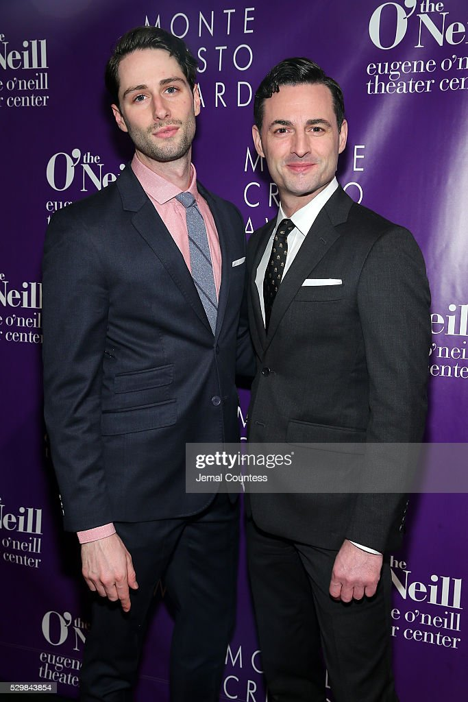 Actors Daniel Rowan and Max von Essen attend the 16th Annual Monte Cristo Award ceremony honoring George C Wolfe presented by The Eugene O'Neill...