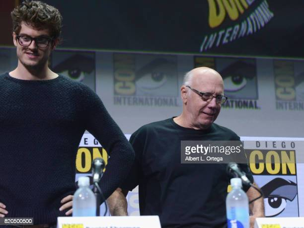 Actors Daniel Sharman and Dayton Callie at ComicCon International 2017 AMC's 'Fear The Walking Dead' Panel at San Diego Convention Center on July 21...
