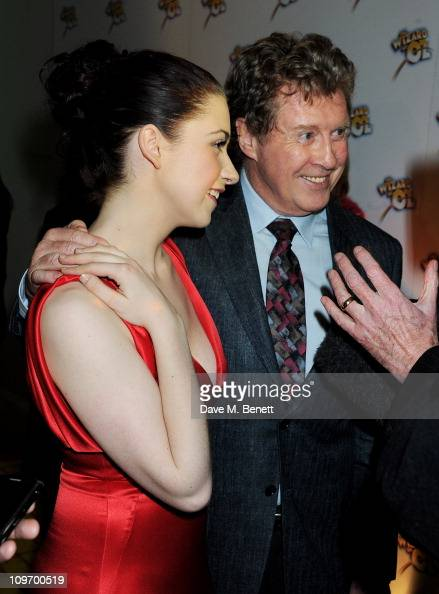 Actors Danielle Hope and Michael Crawford arrive at the after party following press night for Andrew Lloyd Webber's new West End production of The...