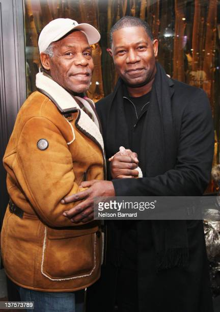 Actors Danny Golver and Dennis Haysbert attend SOREL at VEVO PowerStation SOREL Suite Featuring The Fresh Lounge Presented by Continuum Entertainment...