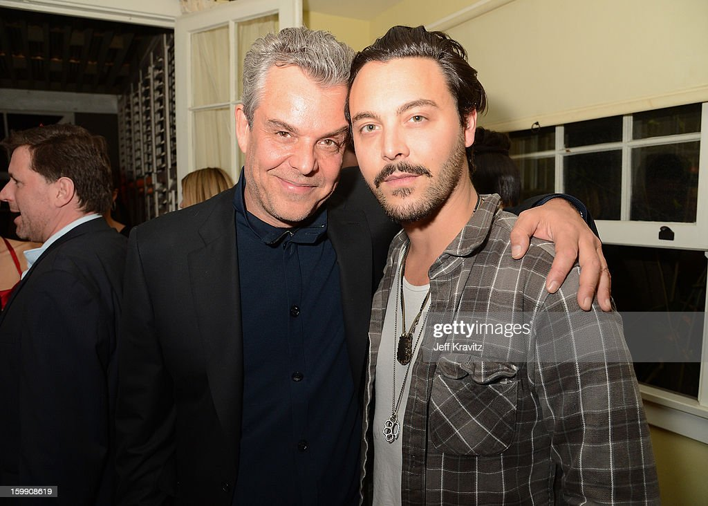 Actors <a gi-track='captionPersonalityLinkClicked' href=/galleries/search?phrase=Danny+Huston&family=editorial&specificpeople=211465 ng-click='$event.stopPropagation()'>Danny Huston</a> (L) and <a gi-track='captionPersonalityLinkClicked' href=/galleries/search?phrase=Jack+Huston&family=editorial&specificpeople=839493 ng-click='$event.stopPropagation()'>Jack Huston</a> attend the 'Spartacus: War Of The Damned' premiere after party on January 22, 2013 in Los Angeles, California.