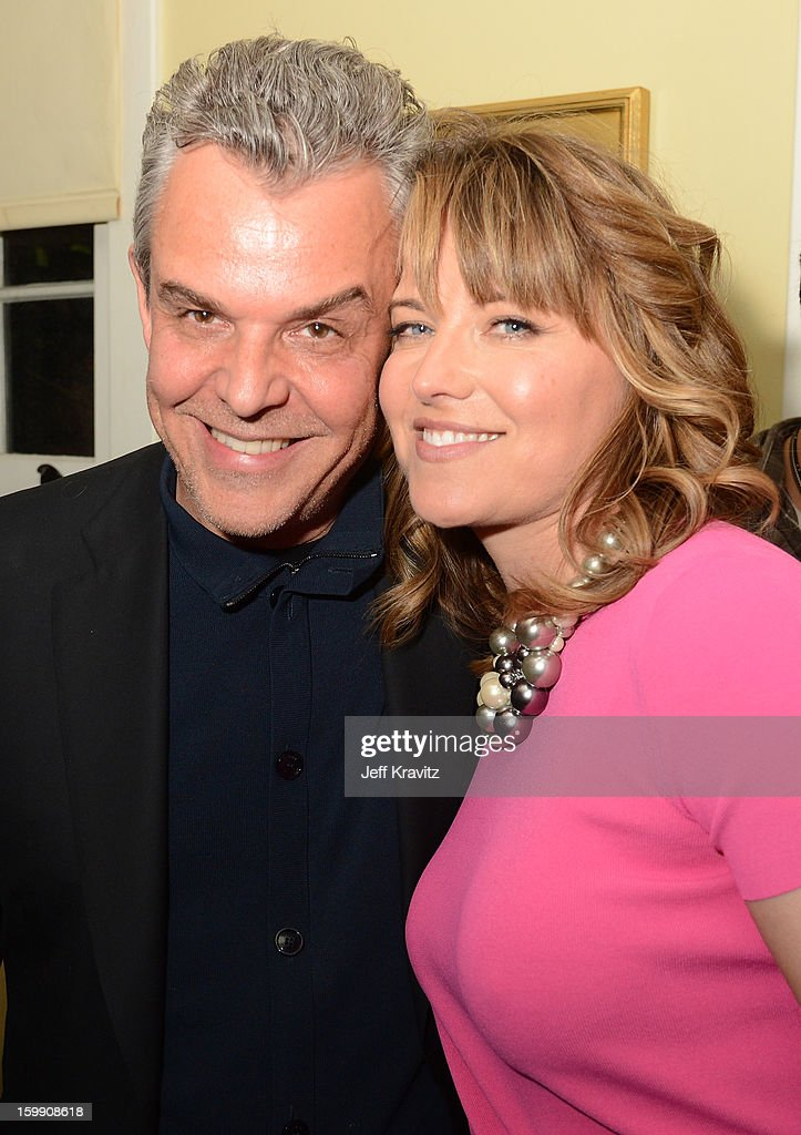 Actors <a gi-track='captionPersonalityLinkClicked' href=/galleries/search?phrase=Danny+Huston&family=editorial&specificpeople=211465 ng-click='$event.stopPropagation()'>Danny Huston</a> (L) and <a gi-track='captionPersonalityLinkClicked' href=/galleries/search?phrase=Lucy+Lawless&family=editorial&specificpeople=209036 ng-click='$event.stopPropagation()'>Lucy Lawless</a> attend the 'Spartacus: War Of The Damned' premiere after party on January 22, 2013 in Los Angeles, California.
