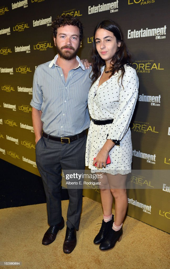 Actors Danny Masterson and Alanna Masterson attend The 2012 Entertainment Weekly Pre-Emmy Party Presented By L'Oreal Paris at Fig & Olive Melrose Place on September 21, 2012 in West Hollywood, California.