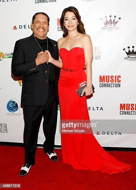 Actors Danny Trejo and Katherine Castro attend Katherine Castro Receives Hollywood FAME Awards at Avalon on November 12 2014 in Hollywood California