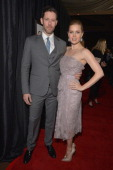 Actors Darren Le Gallo and Amy Adams attend the 38th Annual Los Angeles Film Critics Association Awards at InterContinental Hotel on January 12 2013...