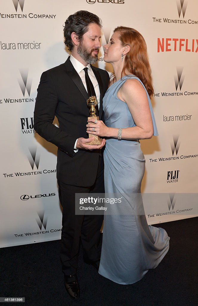 Actors Darren Le Gallo and Amy Adams attend The Weinstein Company Netflix's 2015 Golden Globes After Party presented by FIJI Water Lexus Laura...