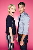 Actors Dave Annable and Rachael Taylor are photographed for TV Guide Magazine on July 25 2012 on the TV Guide Magazine Yacht in San Diego California...